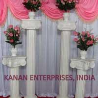 Roman Wedding Pillars