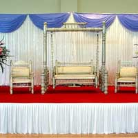 Wedding Stage with Swing