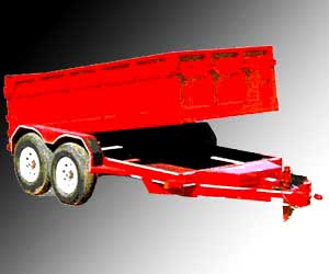 Tipping Tractor Trailer Exporter
