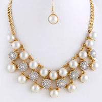 Crystal Necklace (NS2885)