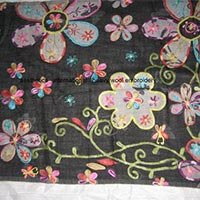 Embroidered Wool Stoles