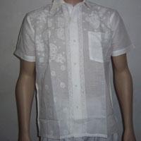 Chikankari Half Sleeve Shirt