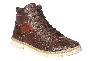 Mens Boots {JKPA022DBRN }