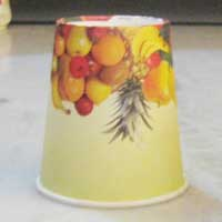 Poly Coated Paper Juice Cup