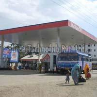 IOCL Petrol Pump Canopy