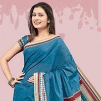 Designer Cotton Saree (02)