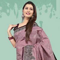 Designer Cotton Saree (04)