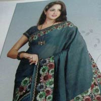 Designer Cotton Saree (05)