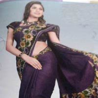 Designer Cotton Saree (06)