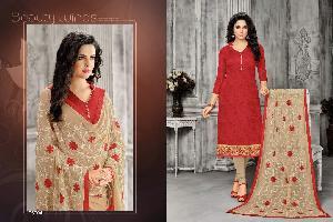 Designer Ladies Dress Material 07