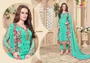 Designer Ladies Dress Material 10