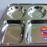 Stainless Steel Bhojan Thali
