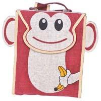 Jute Fabric Kids Bags 06