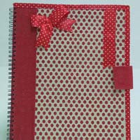 Notebooks Jute Fabric Bags