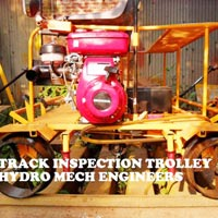 Railway Track Inspection Trolley