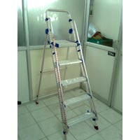 Aluminium Platform Step Ladder-01