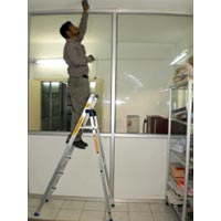 Aluminium Platform Step Ladder-03