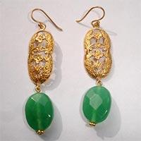 Brass Fashion Earrings