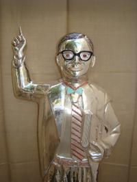 Dr. Ambedkar Silver Statue