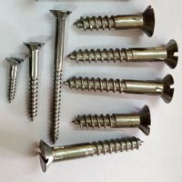 Iron Shaved Head Wood Screws