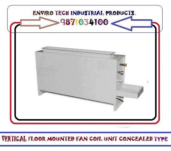 Fan Coil Unit Vertical High Wail Mountied Unit Fan Coil