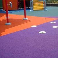 Children's Play Area Rubber Flooring