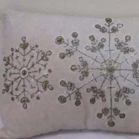 Beaded Cushion