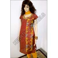 Designer Embroidered Salwar Suit