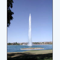 High Jet Fountains