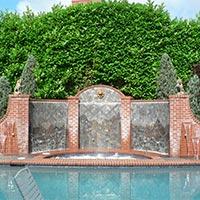 Water Sheet Fountain 04