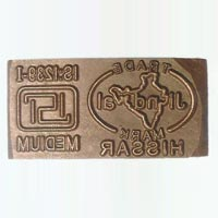 Computerised Steel Stamps