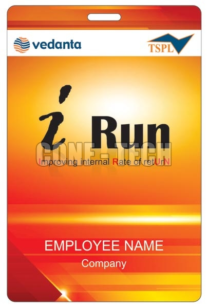 I Run Conference Badge
