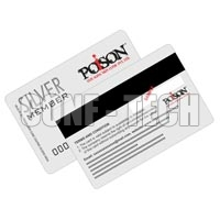 Silver Card Sample