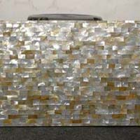 Mother of Pearl and Semi Precious Stone Table Top 07