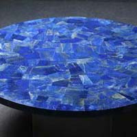 Mother of Pearl and Semi Precious Stone Table Top 11