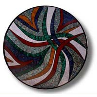 Mother of Pearl and Semi Precious Stone Table Top 16