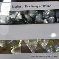 Mother of Pearl Inlay On Corian & Veneer 09