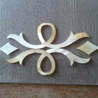 Mother of Pearl Inlay On Corian & Veneer