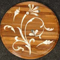 Mother of Pearl Wooden Inlay 12