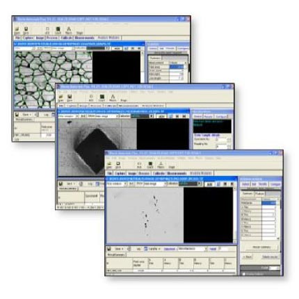 Metallurgical Image Analysis Software