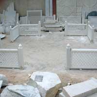 Marble Stone Railing 05