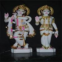 Radha Krishna Statues 06