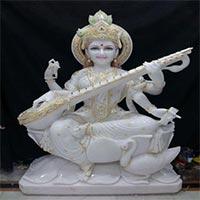 Saraswati Mata Statue 03