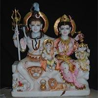 Shankar Parvati Statue 01