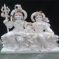 Shankar Parvati Statue 02