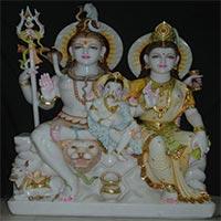 Shankar Parvati Statues 03