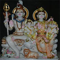 Shankar Parvati Statues 05