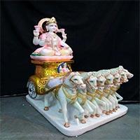 Surya Bhagwan Statue 01