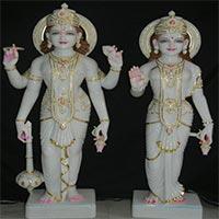 Vishnu Laxmi Statue 04
