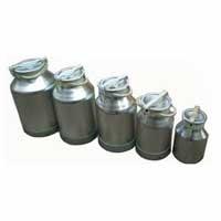Aluminum Milk Cans
